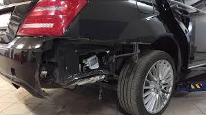 Фото кузовного ремонта Мерседес
