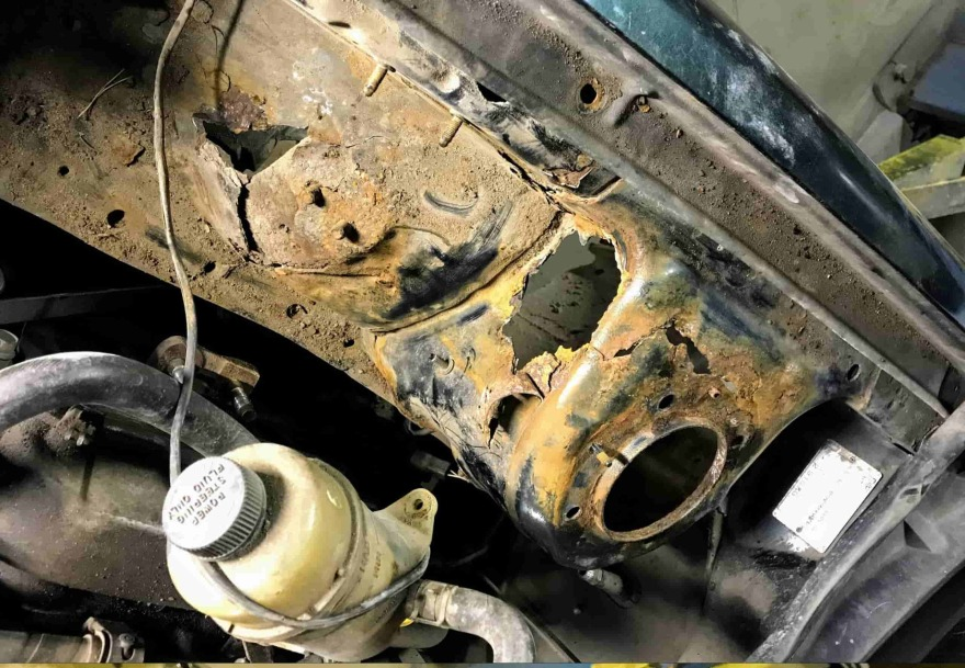 Фото до ремонта кузова