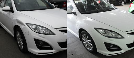 Фото покраски авто до и после